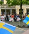Sympathizers of the Sweden Democrats party leader Jimmie Åkesson who speaks on Norrmalmstorg in Stockholm May 24, 2014. (Photo: Frankie Fouganthin / Wiki Commons. Under Creative Commons BY-SA 3.0).