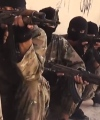 TRAINING: Jihadists and forced recrutits, many of them as young as 16 years or younger, are given one month of military training before they are sent off to the battleground. PHOTO: IS