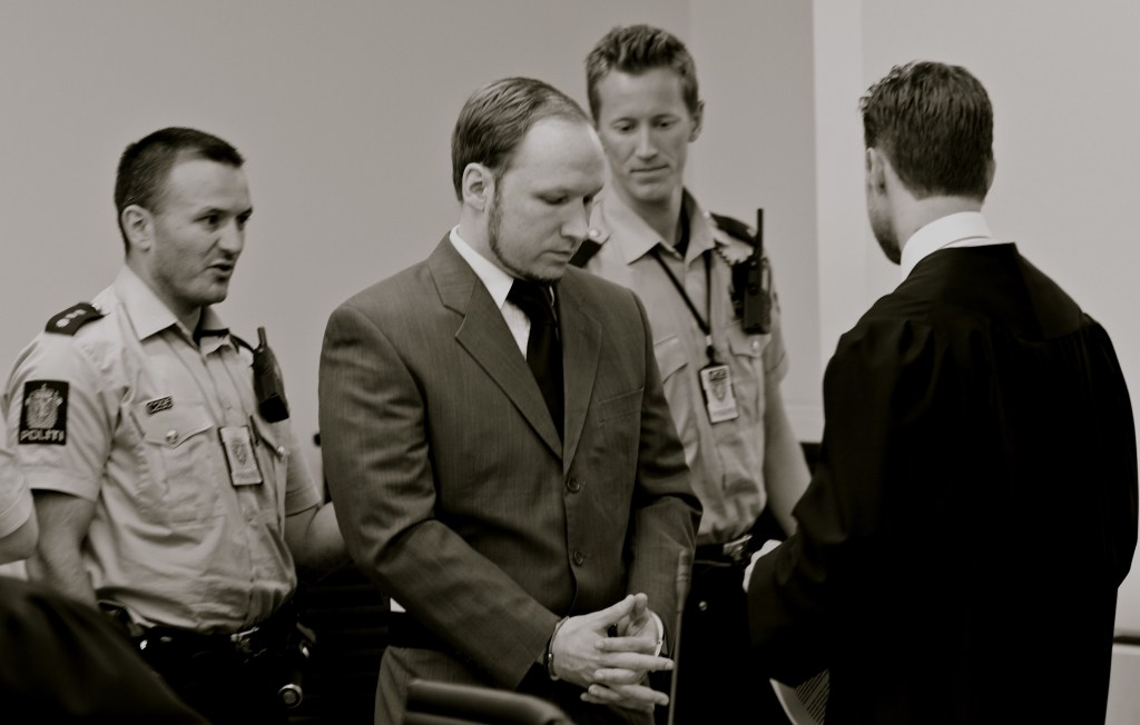 THE CHILLING BREIVIK LEGACY: On 22 July 2011 Anders Behring Breivik killed 77 people in two separate terror attacks.   An increasing number of anti-Islamic activists in Norway are now not only defending Breivik's views but also his actions. Photo: KJETIL STORMARK