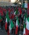 CasaPound demonstration. Photo: Pietro Chiocca. Released into the public domain.