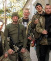 Members of the Azov batallion. Photo: John Færseth.