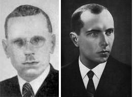 Sciborsky (left), Bandera (right)