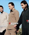 Khalid Ben Labri, Soufiane Amghar and Abdelhamid Abaaoud, depicted in the IS propaganda magazine Dabiq.